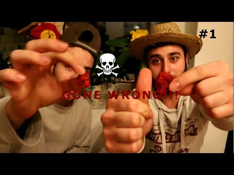 Dumb Idea with carolina reaper RIP challenge! (Gone Wrong)