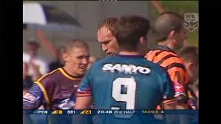 Gordon Tallis vs Ben Ross - Panthers vs Broncos CLASSIC BIFF!!! 2003