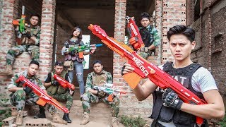 LTT Nerf War : Squad SEAL X Warriors Nerf Guns Fight Criminal Group Rescue People