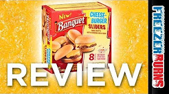 Banquet Cheeseburger Sliders Video Review: Freezerburns (Ep616)