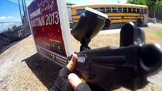 Paintball on Nuketown + Best Laser Tag Ever! (Paintball Explosion)