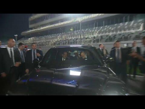يورو نيوز:شاهد: بوتين يوالسيسي في جولة على متن سيارة ليموزين روسية…