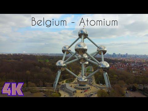 4K | Atomium | Belgium | Brussels | Belgique | Bruxelles | Drone