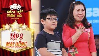 Thách thức danh hài 4 | tập 9: Trấn Thành, Trường Giang bất ngờ khi nhận quà từ hai mẹ con đáng yêu