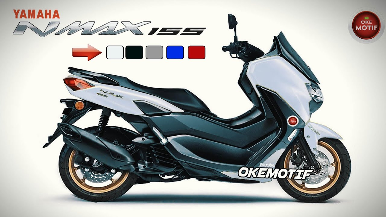 Yamaha Nmax 2020 Top 5 Color Youtube