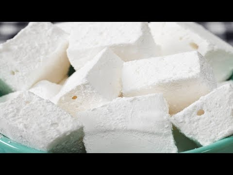 Homemade Marshmallows Recipe Demonstration - Joyofbaking.com - YouTube