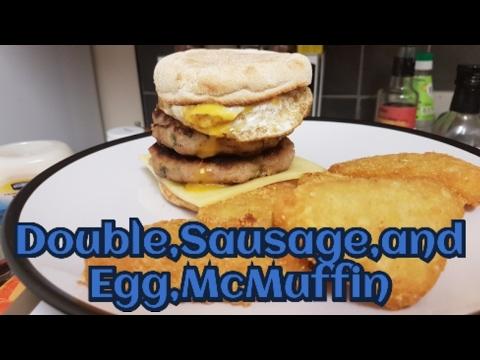 Sausage egg mcmuffin recipe uk