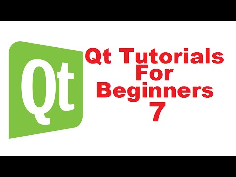 Qt Tutorials For Beginners 7 -  Layouts in QT (Horizontal, Vertical, Grid and Form)