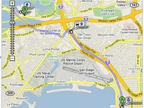 Transit on Google Maps (short) - YouTube