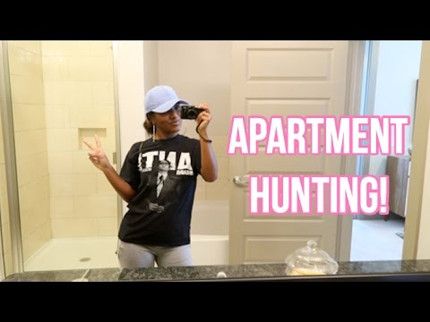 APARTMENT HUNTING IN HOUSTON!!