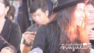 Sin Singular - moment in Tor+ Pianoman Press Con