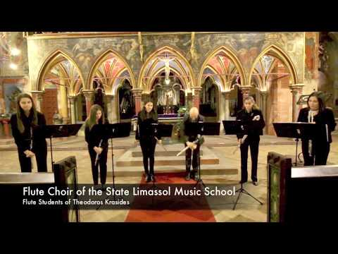 Flute Choir of the State Limassol Music School: Jingle Bells (James Lord Pierpont) - Live Recording