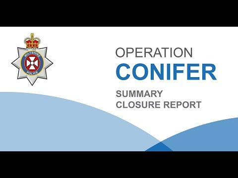Statement from Assistant Chief Constable Paul Mills - Operation Conifer Summary Closure Report