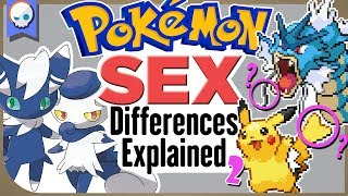 EVERY Gender Difference in Pokemon EXPLAINED! | Gnoggin Part 2