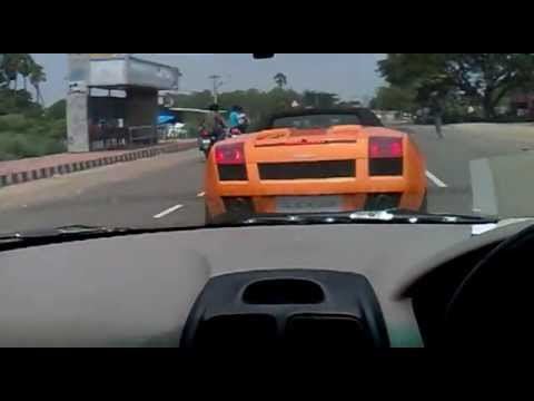 live shoot sports cars on chennai roads pt2