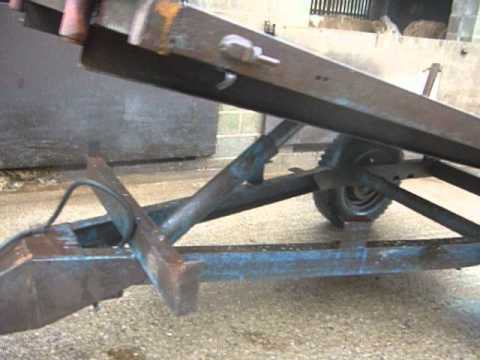 3 Ton Farm Tipping Trailer