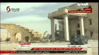الجيشُ السوريُّ يدخُلُ تدمُر – تقرير نعيم برجاوي     24-3-2016