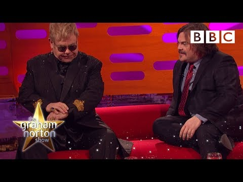 Jack Black asks Sir Elton John to identify one of his own songs - The Graham Norton Show Mp3