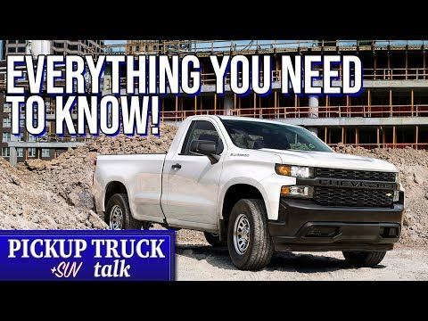 2019 Chevrolet Silverado Work Truck Overview, What You Need to Know