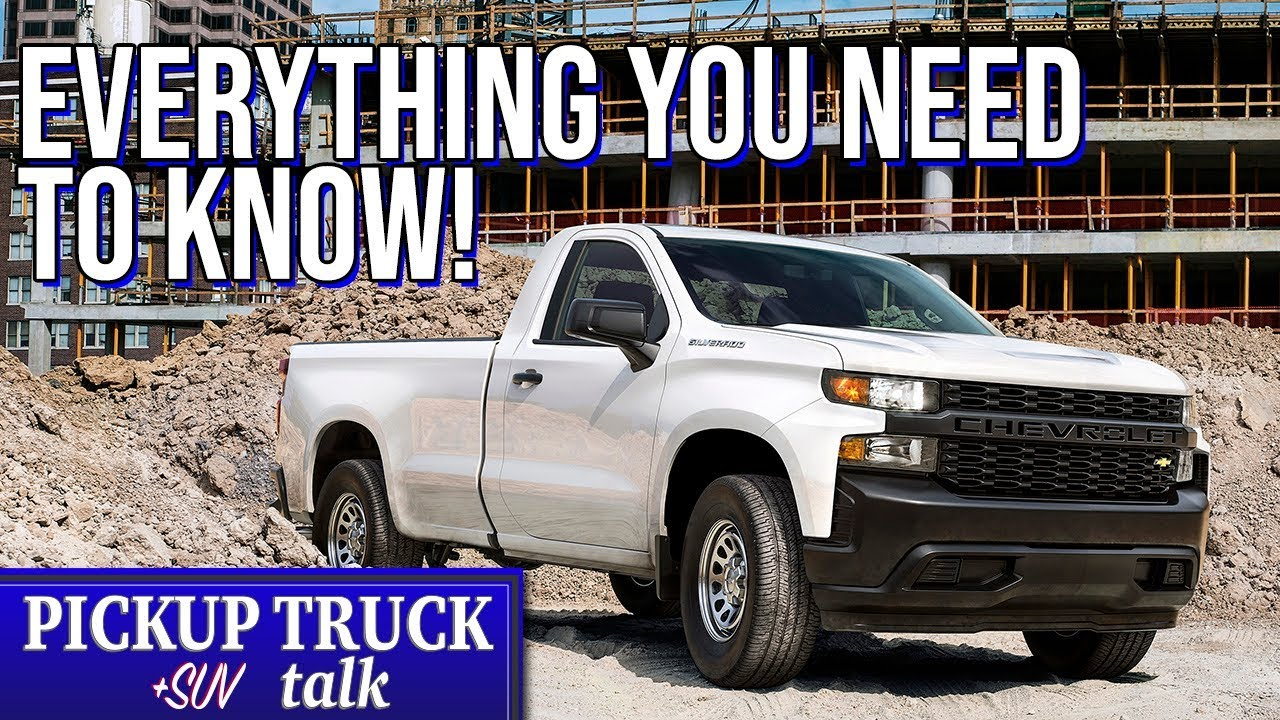 Chevy Work Truck >> 2019 Chevrolet Silverado Work Truck Overview What You Need To Know