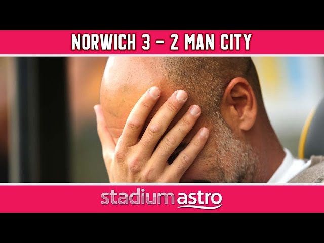 Norwich City 3 - 2 Manchester City  | EPL Highlights | Astro SuperSport
