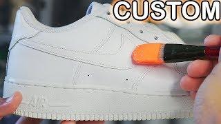 Custom AIR FORCE 1's! 🎨🎨