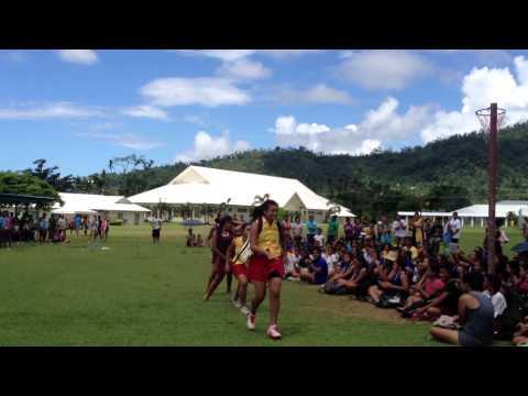 danza kuduro net-ball champs Samoa College 2013