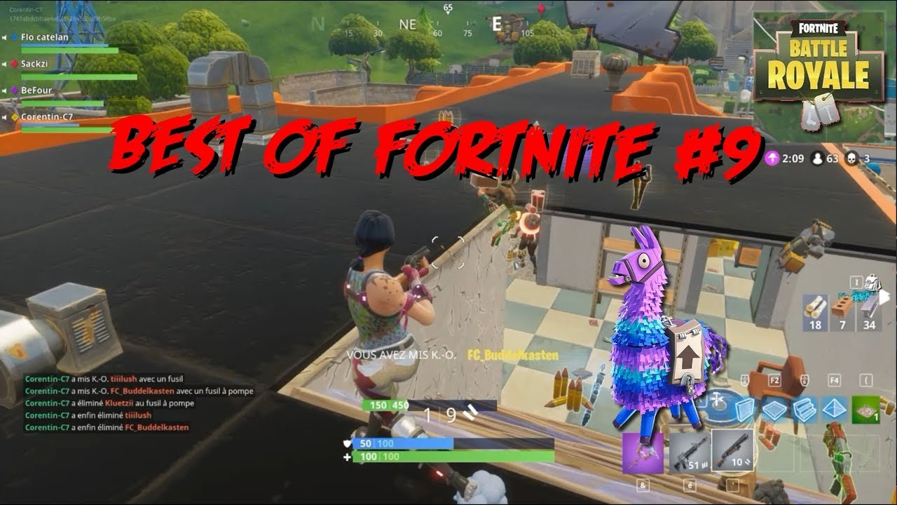 Fortnite Battle Royale | BEST MOMENTS [BEST OF #9]