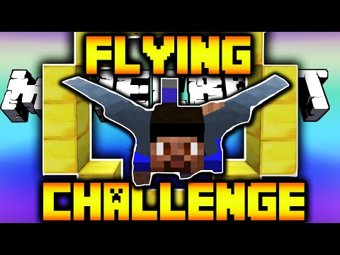 Minecraft 1.9 NEW FLYING CHALLENGE MAP