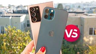 iPhone 12 Pro vs. Galaxy Note 20 Ultra camera comparison