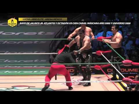 Rayo de Jalisco, Atlantis y Octagón vs Los Hermanos Dinamita, Lucha Libre Elite