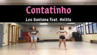 Baixar Coreografia - Léo Santana, Anitta - Contatinho