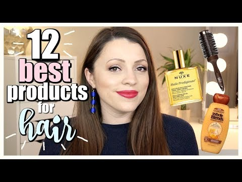 BEST HAIR PRODUCTS 2018 | Drugstore & Luxury