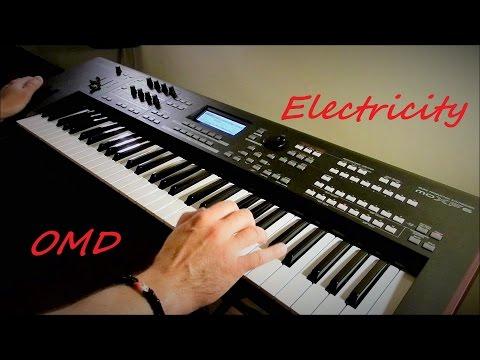 OMD - Electricity - Instrumental Version by Piotr Zylbert - Yamaha moXF6 - Poland (HD)