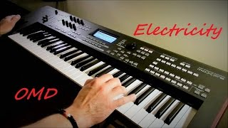 OMD - Electricity - Instrumental Version by Piotr Zylbert - Yamaha moXF6 - Poland (HD)