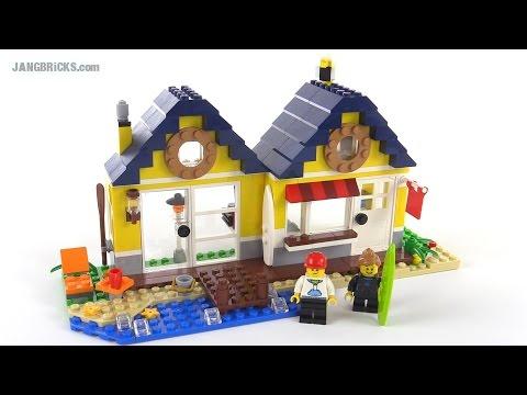 LEGO Creator Beach Hut, all 3 builds reviewed! set 31035