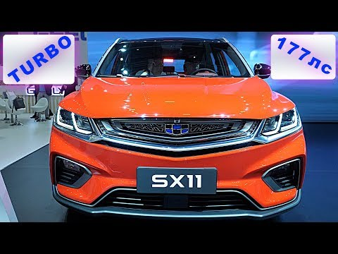 УБИЙЦА Hyundai CRETA GEELY SX11 TURBO 177л.с. и РОБОТ DCT