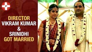 Director Vikram Kumar & Srinidhi marriage pics | Celebrities