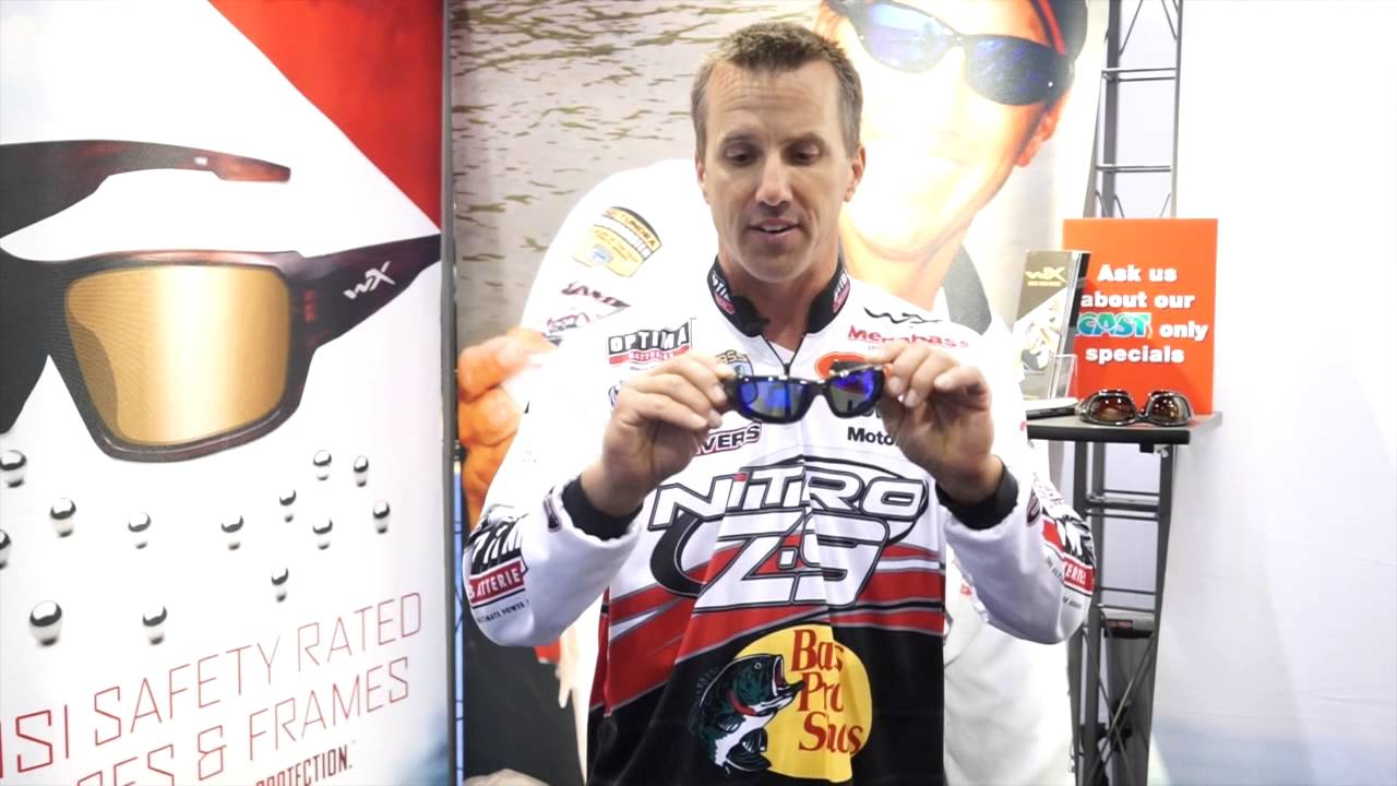 0398bec757 Pro Angler Edwin Evers on WileyX Sunglasses - YouTube