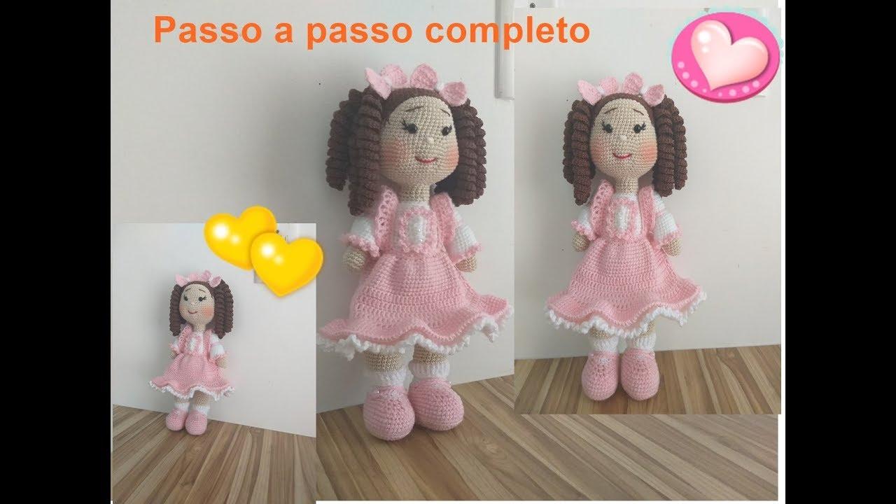 Amigurumi Poupons YOYO crochet partie 2/2 / YOYO mini dolls ... | 720x1280