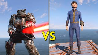 Fallout 4 - 250 KIDS vs 50 BROTHERHOOD OF STEEL - Battles #15