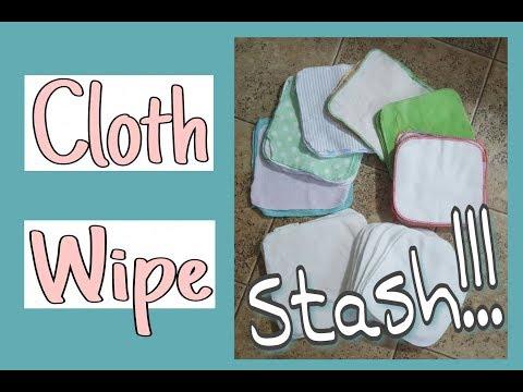 Cloth Wipe Stash