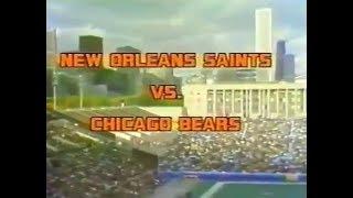 1977-10-02 New Orleans Saints vs Chicago Bears(Archie Manning 4 TDs)