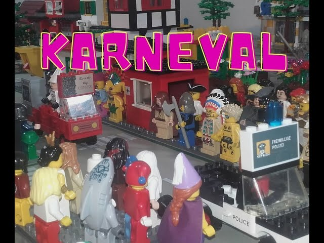 LEGO Karneval Umzug 2021