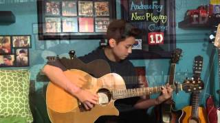 Night Changes - One Direction (1D) - Fingerstyle Guitar Cover
