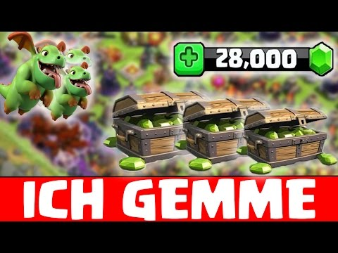 ICH GEMME|★|JUWELEN OHNE ENDE |★| CLASH OF CLANS |★| Let's Play CoC [Android iOS]★[deutsch|german]