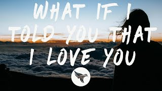 Gambar cover Ali Gatie - What If I Told You That I Love You (Lyrics)