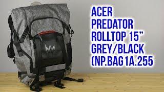 Розпакування Асер забирається кришкою хижак 15'' сірий/чорний НП-BAG1A-255