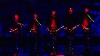 Supertalent 2013 Stickstoff aus Basel zeigt seine Trommelkunst