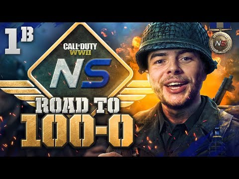 Road to 100-0 is BACK! - Ep. 1B - Our First Win or CHOKE? (Call of Duty:WW2)